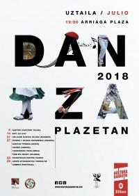 Dantza Plazetan / Julio en Plaza Arriaga