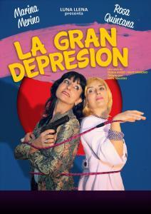 Cartel Luna LLena. La gran depresion