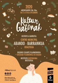 KULTUR GABONAK DISTRITO 6: BARRAINKUA, SOCIEDAD FILARMÓNICA DE BILBAO, INSTITUTO BERTENDONA